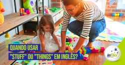 Quando usar 'stuff' e 'things' em inglês?